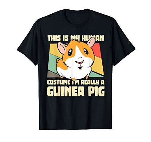 This Is My Human Costume I'm Really A Guinea Pig Pet Gifts Camiseta