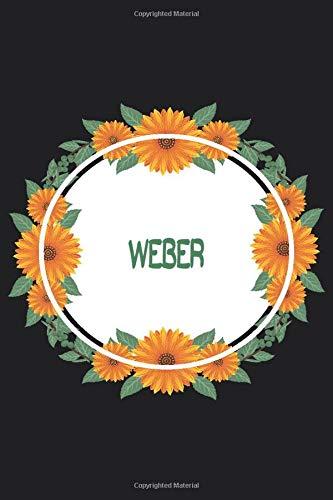 Weber: Personalized Notebook | Weber