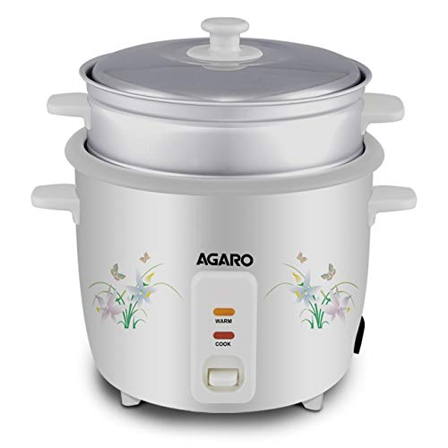 AGARO 33307 Supreme 1-Litre Rice Cooker