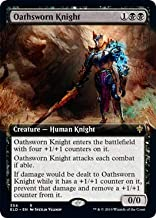 Magic: The Gathering - Oathsworn Knight - Extended Art - Throne of Eldraine
