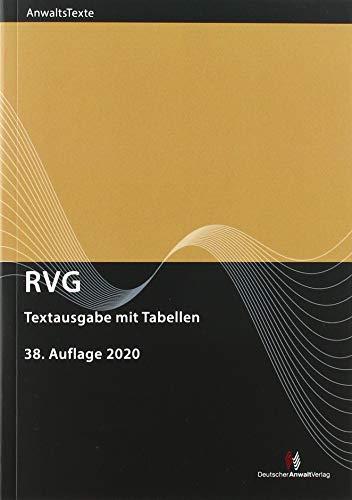RVG: Textausgabe mit Tabellen (RVG Textausgaben)