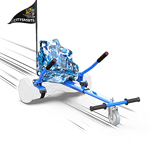 MARKBOARD Asiento Kart, Hoverkart para Patinete Eléctrico, Compatible con Hoverboard de 6.5,...