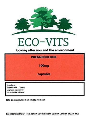 Pregnenolone (100mg) 240 Cápsulas