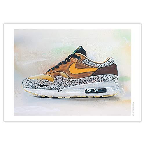 JosHoppenbrouwers Nike Air Max 1 Atmos Safari Print 02 (70 x 50 cm)