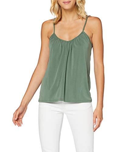 VERO MODA Womens VMFILLI Singlet GA NOOS Shirt, Laurel Wreath, M