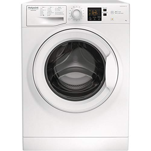 Hotpoint Ariston NF823W IT - Lavatrice 8 kg a carica frontale Classe A+++