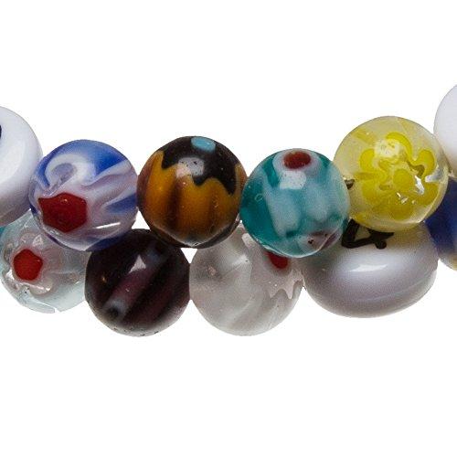 Stillarmband Millefiori – Praktisch für stillende Mütter sowie ein ideales Geschenk zur Geburt! (bunt) - 2