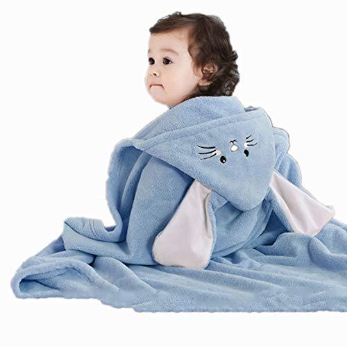 ZXJ Children's Bad Handdoeken, Hooded Baby Handdoek Baby Animal Patroon Hooded Kinderen Badjas Katoen Badjas Strandhanddoek voor Meisje Jongen Baby