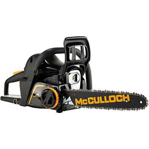 McCulloch CS 42STE Benzin-Kettensäge, 42 CCM, schwarz/gelb, 14 Zoll