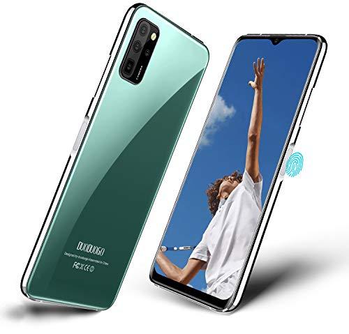 Smartphone Offerta del Giorno 4G, DUODUOGO S20 Android 10 Cellulari con 16MP Dual Camera, 5.5  Waterdrop HD Schermo, Octa-Core 6GB RAM 64GB ROM, 4500mAh Batteria, Dual 4G SIM Telefonia Mobile-Verde