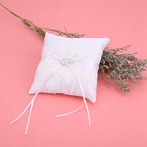 Anillo de almohada almohada anillo de boda almohada para fiesta de compromiso
