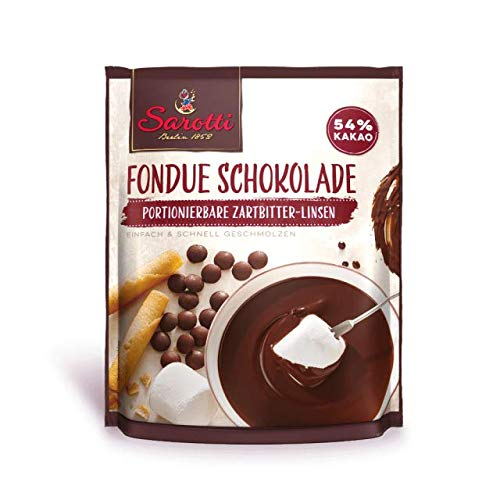 Sarotti Fondue Schokolade Zartbitter 200g