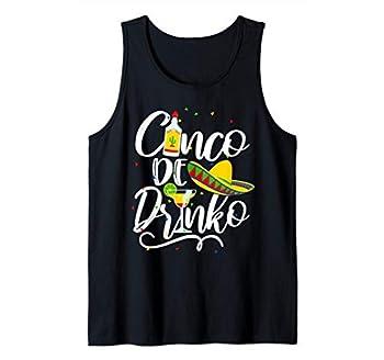 Cinco De Drinko Drinko De Mayo Mexican Cinco De Mayo Tank Top