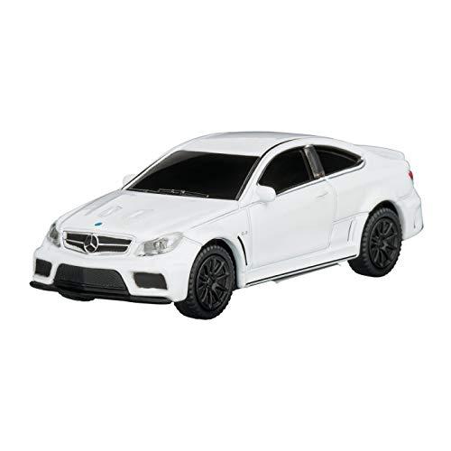 REFLECTS USB-Speicherstick Mercedes Benz C63 AMG 1:72 Silver 16GB Farbe weiß