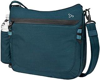 Travelon Anti-Theft Active Medium Crossbody Messenger Bag, Teal (Blue) - 43128 380