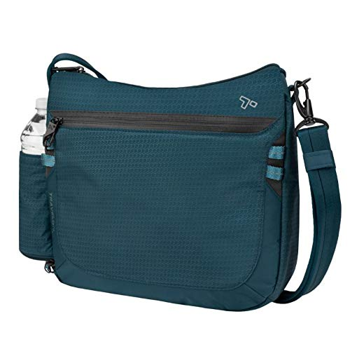 Travelon Anti-Theft Active Medium Crossbody, Teal, One Size