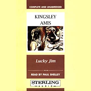 Lucky Jim audiobook cover art