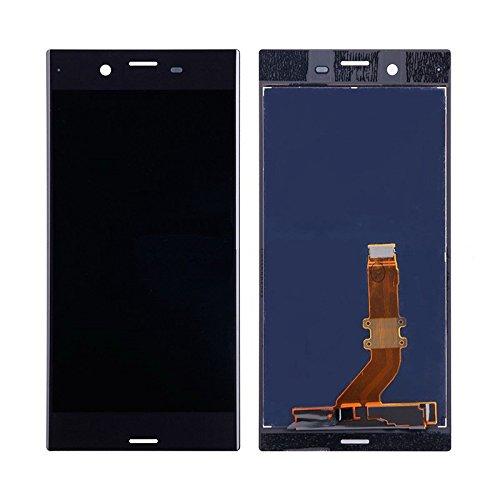 ixuan Sony Xperia XZ 601SO F8331 F8332修理用フロントパネル(フロントガラスデジタイザ)タッチパネル Lcd液晶パネルセット 修理工具付き ブラック