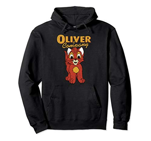 Disney Oliver & Company Movie Portrait Pullover Hoodie