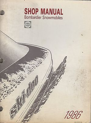 ski doo service manual - 2