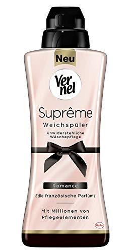 Vernel Supreme Romance Weichspüler 24 WL 600ml (Pack of 6)