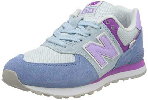 New Balance 574 Varsity Pack, Zapatillas, Azul Estelar, 35 EU