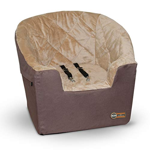 """K&H Pet Products Bucket Booster Pet Seat Large Tan 14.5"""" x 24"""""""