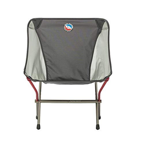 BIG AGNES Mica Basin Chair, Asphalt/Gray Camp Furniture, One Size