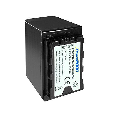 Synergy Digital Camcorder Battery, Works with Panasonic AG-HVX200 Camcorder, (Li-Ion, 7.2V, 6000 mAh) Ultra Hi-Capacity, Compatible with Panasonic VW-VBD29 Battery