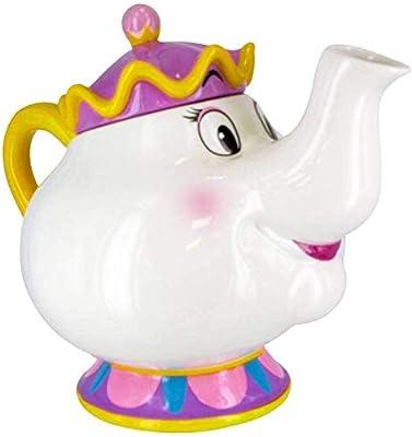 Paladone Mrs Potts Tea Pot, Ceramic, Multi, 24 x 17 x 20 cm