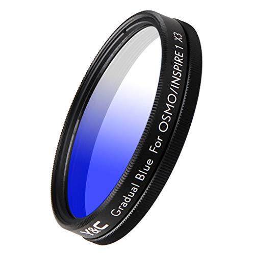 P Prettyia 43mm Abgestufter Farbneutralitätsfilter Für DJI OSMO/Inspire 1 X3 - Blau
