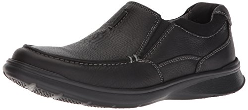 Clarks Men's Cotrell Free Shoe, black oily leather, 7 Medium...