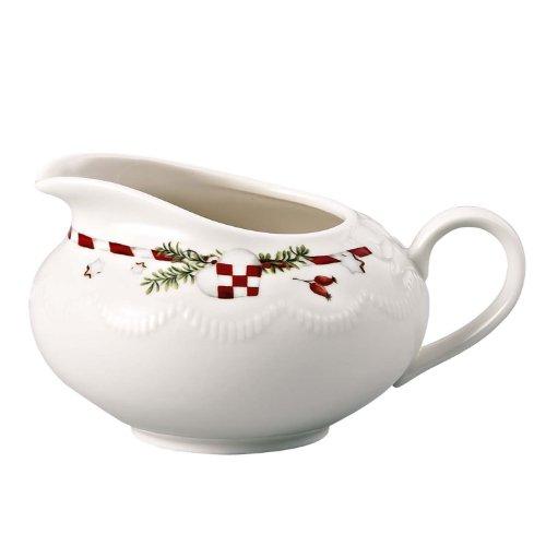 Hutschenreuther 02460-725492-14430 Weihnachtsleckereien Milchkännchen 6 Personen, im Geschenkkarton