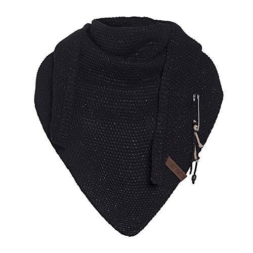 Knit Factory Dames Sjaal Coco Deluxe - Driehoek Sjaal 190 x 85 CM