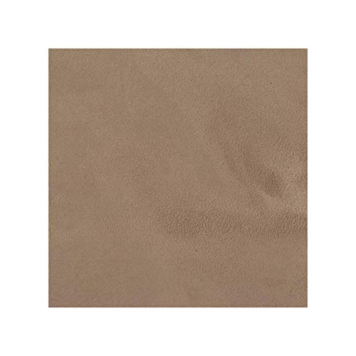 Mybecca Buckskin Mocha Micro Suede Headliner Microsuede Drapery, Apparel and Upholstery Fabric by The Yard (Passion Suede) (1 Yard) by Separate Yard