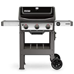 Boasts the GS4 grilling system with improved infinity ignition, burners, porcelain-enameled Glamorizer Bars, and grease Management system Porcelain-enameled, cast iron cooking grates 529 Square inches of cooking space over three burners. Left Table d...