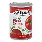 Dei Fratelli Pizza Sauce - All Natural - No Water Added - Never from Tomato Paste - 5th Generation Recipe (15 oz. cans; 6 pack)