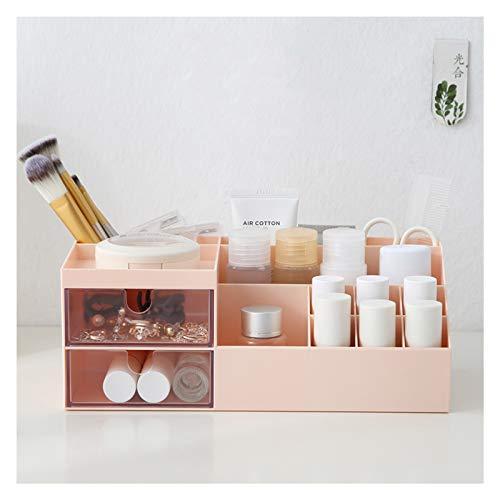 Subsky Make-up Organizer mit Schubladen, Make-up Lagerung Kosmetische Schminktisch Organizer Make-up Box mit Schubladen für Kommode, Schlafzimmer, Badezimmer A