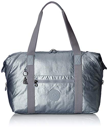 Kipling Art M Luggage, 26 L, Steel Gr Metal