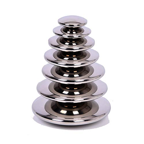 TickiT 72217 Sensory - Botones plateados...