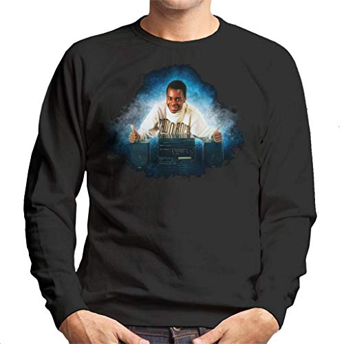TV Times Andi Peters with A HiFi Thumbs Up Men's Sweatshirt