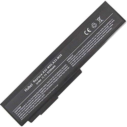 A32-N61 A32-M50 A33-M50 Sostituzione della batteria del laptop per Asus N53SV N53S G50VT G51VX M50 N53 N53J N53JQ N53SN N61J N61JQ N61JV A32-N61 A32-M50 G50 G60 A33-M50 G51J L062066 (11.1V 5200mAh)