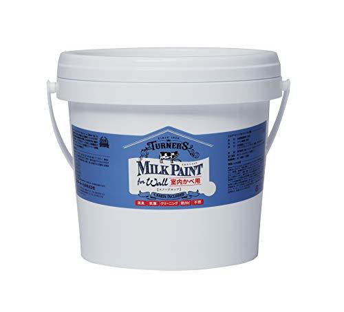 ターナー色彩 アクリル絵具 ミルクペイント forウォール(室内かべ用) スノードロップ MW002501 2l