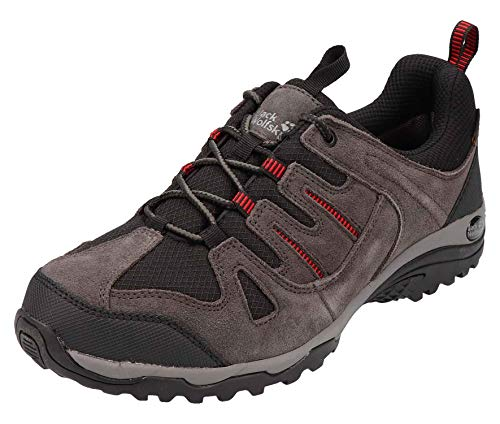 Jack Wolfskin Herren Sportschuhe Mountain Creek Texapore Low M 4035231-6059 grau 759617