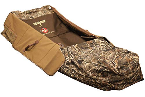 Great Price! Rogers Toughman Goosebuster LP XL Layout Blind, Realtree Max 5