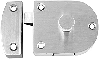 Notched for 2-1//8 or Less Diameter Rose 3 Width x 11 Height x .105 Thickness Rockwood 320C.2C Stainless Steel Cylindrical Notched Latch Protector Zinc Plated Finish