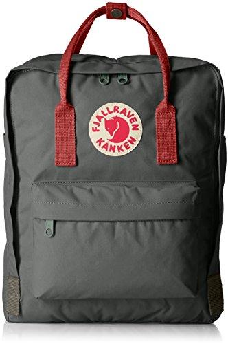 [フェールラーベン]Amazon公式 正規品 リュック Kanken 容量:16L 23510 Forest Green-Ox Red
