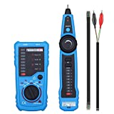 XMAGG® Alta Calidad RJ11 RJ45 Cat5 Cat6 de Alambre de Teléfono Tracker Rastreador Toner Ethernet de Red LAN Cable Tester Detector de Línea