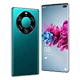 Mobile Phone 5G Teléfono Inteligente Pantalla Grande con Gota Agua 6.6 Pulgadas teléfono móvil Desbloqueado 12GB + 512GB teléfono móvil Android con Doble SIM cámara de 24MP + 48MP 5000mAh