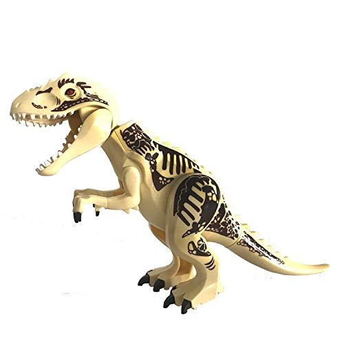 Fantastic Prices! Eka Building Blocks Jurassic World Park Dinosaur A-1 Action Figure Toy(Light Yello...